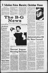The B-G News May 17, 1968