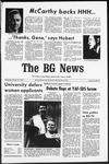 The BG News October 30, 1968