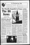 The BG News November 26, 1968