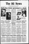 The BG News January 23, 1969