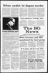 The BG News April 18, 1969