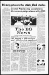 The BG News April 30, 1969
