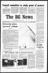 The BG News October 31, 1969
