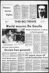 The BG News November 11, 1970