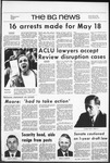 The BG News May 28, 1971