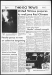 The BG News October 27, 1971