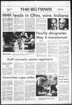 The BG News May 3, 1972
