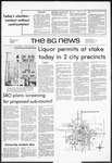 The BG News November 7, 1972