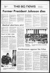 The BG News January 22, 1973