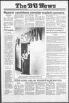 The BG News October 25, 1979