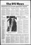 The BG News January 25, 1980