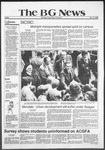 The BG News October 17, 1980