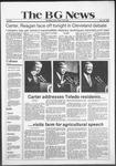 The BG News October 28, 1980