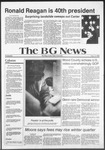 The BG News November 5, 1980