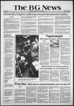 The BG News January 15, 1981