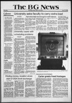 The BG News January 22, 1981