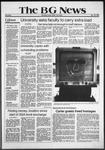 The BG News January 22, 1981