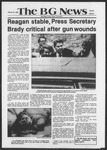 The BG News March 31, 1981