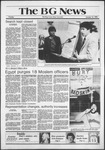 The BG News October 13, 1981