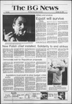 The BG News October 20, 1981