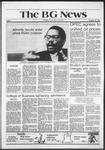 The BG News October 30, 1981