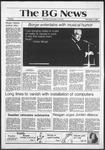 The BG News November 3, 1981