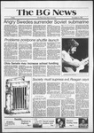 The BG News November 6, 1981