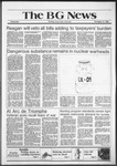 The BG News November 11, 1981