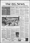 The BG News November 24, 1981