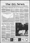 The BG News December 4, 1981
