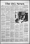 The BG News January 22, 1982