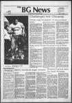 The BG News April 2, 1982