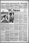 The BG News April 13, 1982
