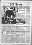 The BG News April 28, 1982