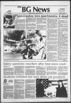 The BG News May 4, 1982