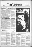 The BG News September 8, 1982