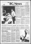 The BG News September 16, 1982