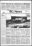 The BG News September 21, 1982