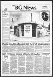 The BG News September 23, 1982