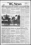 The BG News October 5, 1982