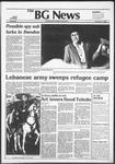 The BG News October 7, 1982