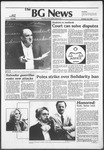The BG News October 12, 1982