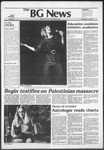 The BG News November 9, 1982