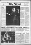 The BG News November 9, 1982