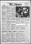 The BG News November 10, 1982