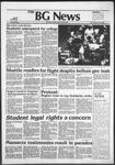 The BG News November 10, 1982