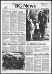 The BG News November 11, 1982
