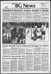 The BG News November 12, 1982