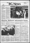 The BG News November 17, 1982