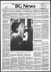 The BG News November 30, 1982